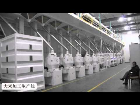 The china rice mill factory