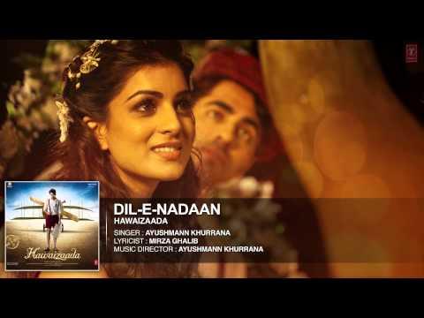 'Dil-e-Nadaan' Full Audio Song | Ayushmann Khurrana | Hawaizaada | T-Series