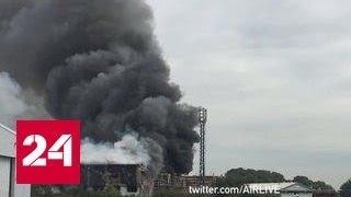 У лондонского аэропорта Саутенд прогремел взрыв