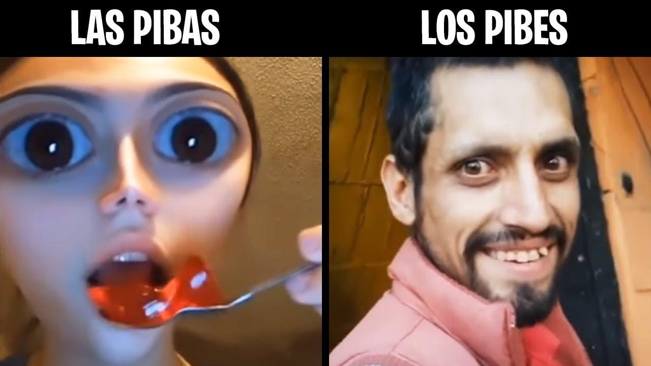 LAS PIBAS vs LOS PIBES 👁👄👁