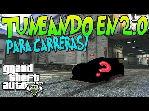 """GTA 5 TUNEANDO EN 2.0 """" EL MASSACRO PARA CARRERAS """" UN COLOR NUNCA UTILIZADO!! XFaRgAnx"""