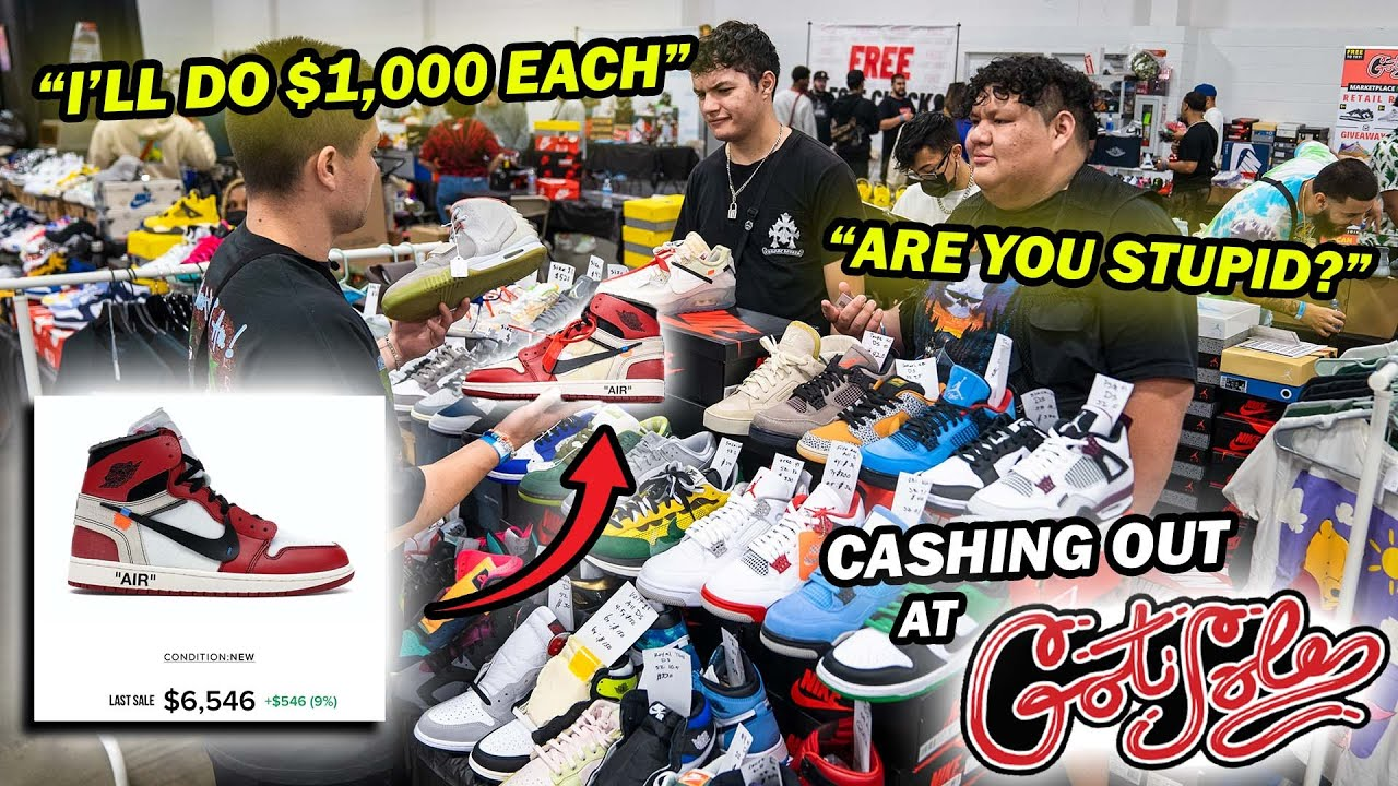 Download CASHING OUT AT THE CRAZIEST SNEAKER EVENT OF THE YEAR! *New York Got Sole*