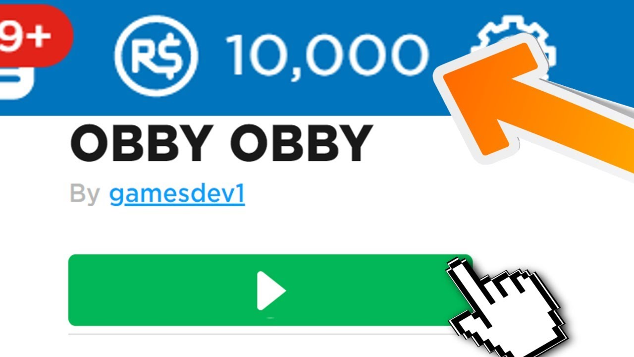 Secret Obby Gives 10 000 Free Robux May 2019 Youtube
