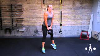 Unapologetically Powerful Demo: Kettlebell Jump Squat
