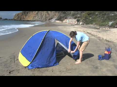 & Shade Shack Pop Up Sun Shelter - YouTube