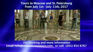 VOA TV NY, Tours to Moscow and St  Petersburg