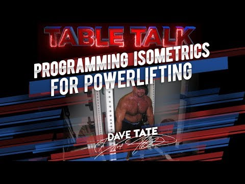 Programming Isometrics For Powerlifting | elitefts.com