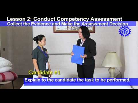 Conduct Competency Assessment