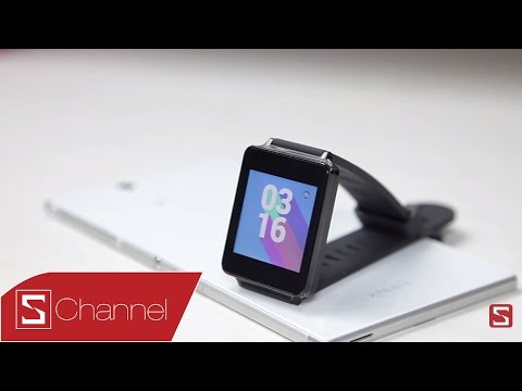 Schannel - Đánh giá Android Wear trên LG G Watch