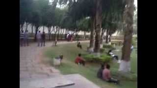 Lovers kissing scenes captured in Hyderabad parks