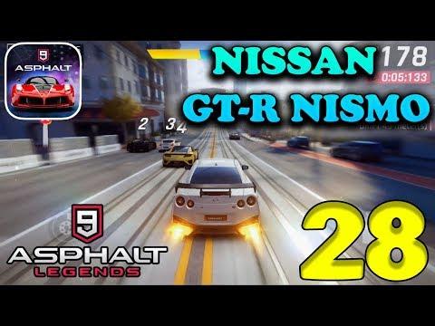 ASPHALT 9 : LEGENDS - NISSAN GT-R NISMO GAMEPLAY - #28