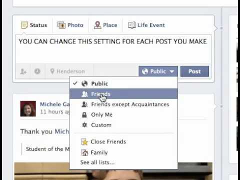 friends of friends facebook setting