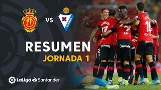 Resumen de RCD Mallorca vs SD Eibar (2-1)