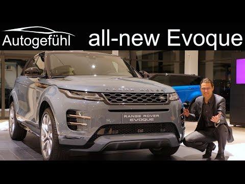 All-new Range Rover Evoque REVIEW Exterior Interior 2019 2020 - Autogefühl