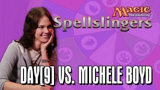 Day[9] vs. Michele Boyd in Magic: The Gathering: Spellslingers Ep 4