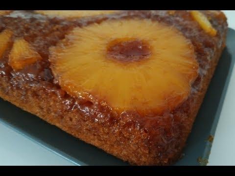 recette-du-gâteau-végan-renversé-à-l'ananas