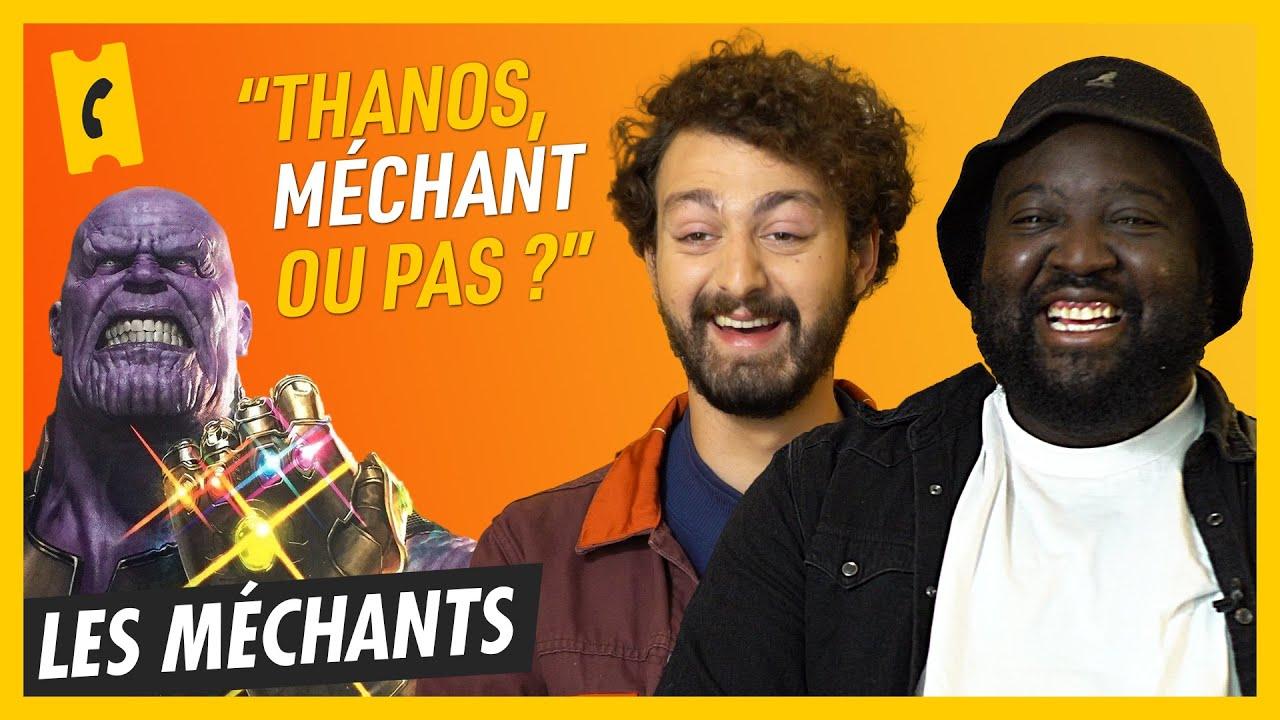 Thanos, Joker… Méchant ou pas méchant ? Avec Roman Frayssinet et Djimo.
