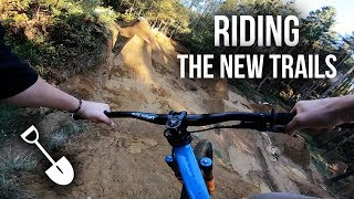 Build And Ride! Testing The New MTB Trails Line!