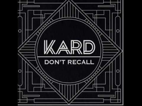 K.A.R.D Project Vol.2 `Don't Recall` Download Link mp3