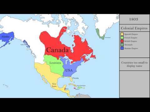 History Of North America: Every Year