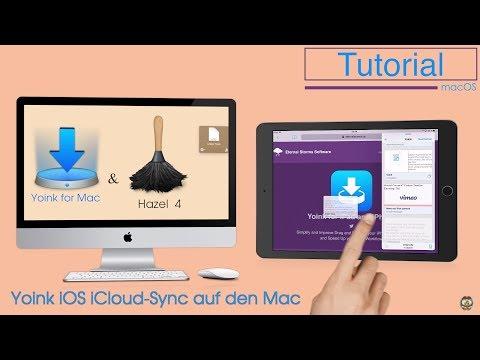 Yoink IOS ICloud Sync Auf Denn Mac Mit Hazel 4 / #28