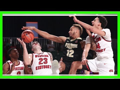 Purdue basketball sputters in home loss to Michigan