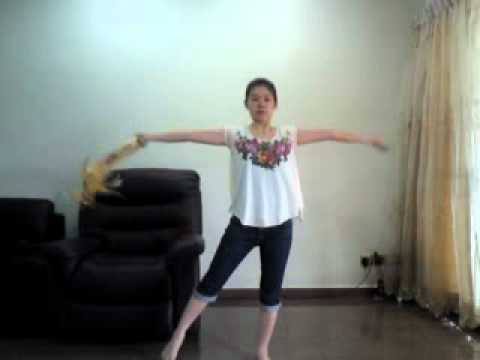 Tambourine Dance Step 1 - YouTube