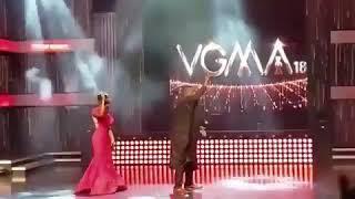 GHANA Music awards 2018 Patapaa Ebony Sarkodie And Dumelo Dance VGMA 2018