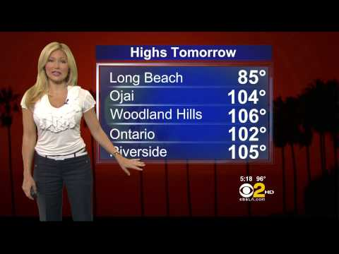 Jackie Johnson 2012/08/06 CBS2 HD; White...