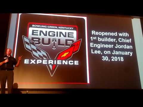 Kai Spande Corvette Plant Presentation Part 1, April 26, 2018
