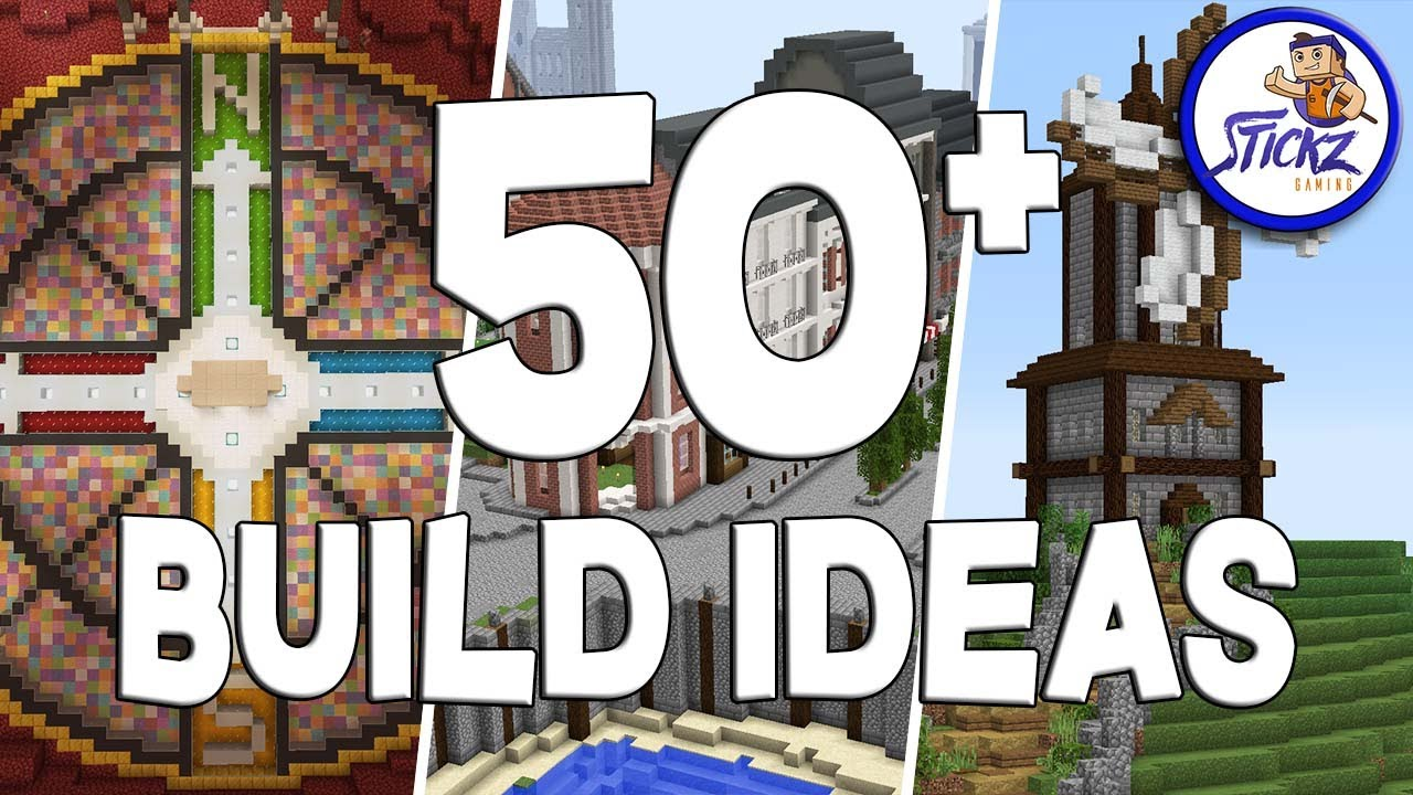 50   Minecraft Build Ideas For Your Survival World YouTube