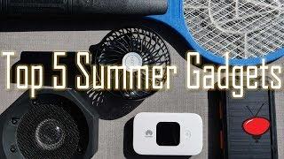 Top 5 Summer Travel Gadgets