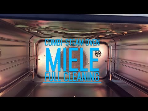 How to clean Steam Combination Oven - Miele Combination Steam Oven