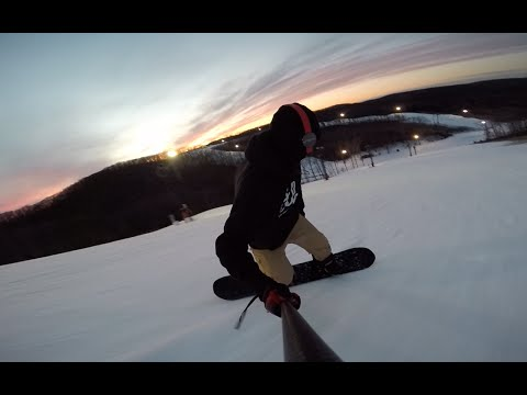 Hidden Valley Ski Resort, St.louis MO - Snowboard Session #1