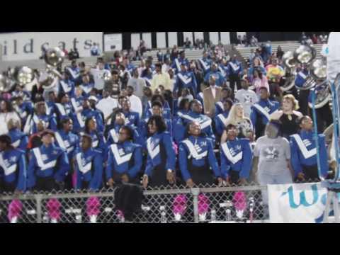 "Meridian High band 2016 ""We get turnt up!"" (Senior Night)"