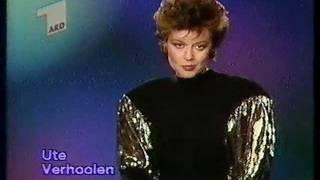 ARD Programmansage Ute Verhoolen 13.12.1987
