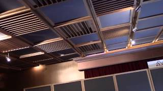 Sacred Ground Ceiling System - www.AcousticFields.com
