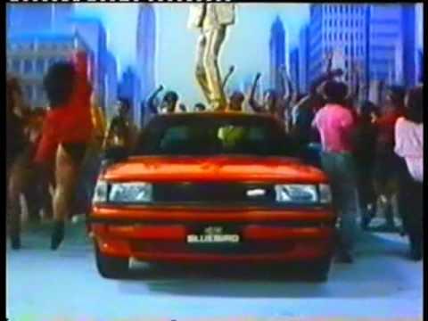 โฆษณาเก่าๆรถยนต์นิสสันบลูเบิร์ด Bluebird Turbo