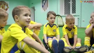 Відеорепортаж. У Вінниці відкрилась дитяча школа футболу Junior
