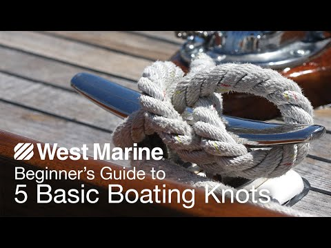 Beginner's Guide to 5 Basic Boating Knots