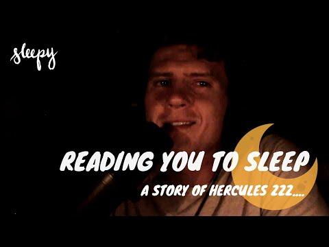 ASMR Soft Spoken Bedtime Reading with Otis Gray | A Story of Hercules – Sleepy Podcast