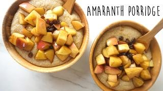 Amaranth porridge // electric food ...