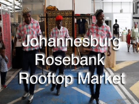 Johannesburg - South Africa - Rosebank Sunday Market
