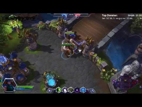 LiveStream - Heroes of the Storm   Playing against chatroom / bnet friends