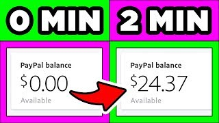 Make $24.37 Clicking ONE Button! (VERY EASY!) PayPal Money