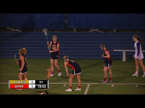 Girls' Lacrosse: LT v Oak Park-River Forest 4-20-2017