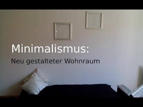 Minimalismus und mein neu gestalteter Wohnraum