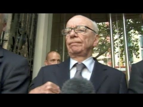 Rupert Murdoch Interview With Parliament: News Corp CEO and Owner of Fox Hacking Scandal (07.19.11)