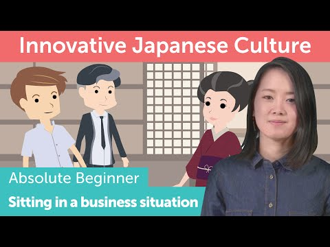 How to Get Seated in a Business Situation  | Innovative Japanese