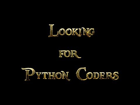 Looking for Experienced Python Coders